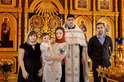Крещение ребенка в спб